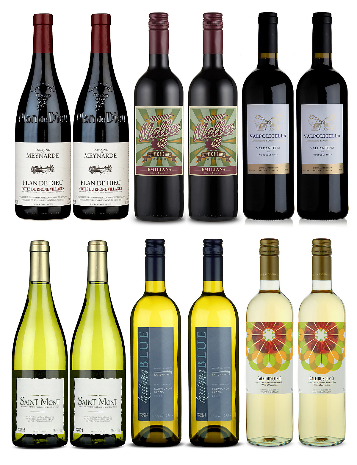 Marks & Spencer. Personalia: Search Go. FREE DELIVERY TO STORE IN 2 - 3* DAYS FIND OUT MORE > Wine Glasses; Food in store Store Locator; CHRISTMAS FOOD TO ORDER Christmas Food to Order 2 for €18 selected wines. Choose from our delicious range of Red and white wines.