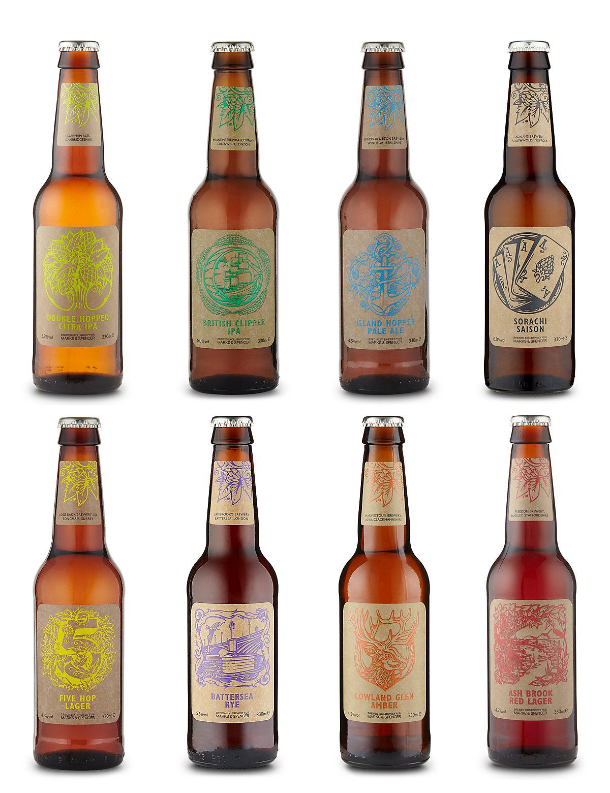 Mixed Craft Beer Dozen  Case of 12