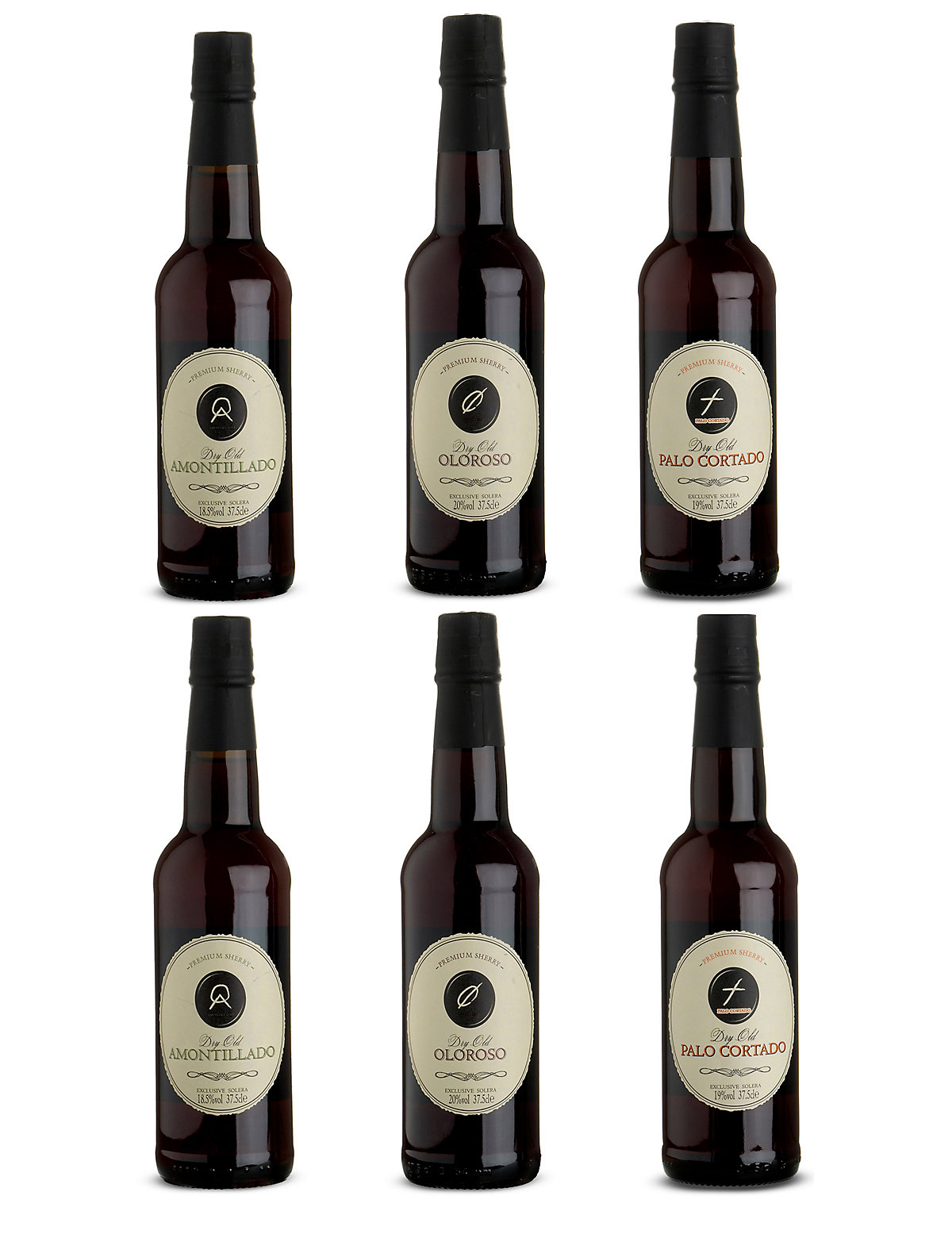 Gold Medal Sherry Selection Case of 6