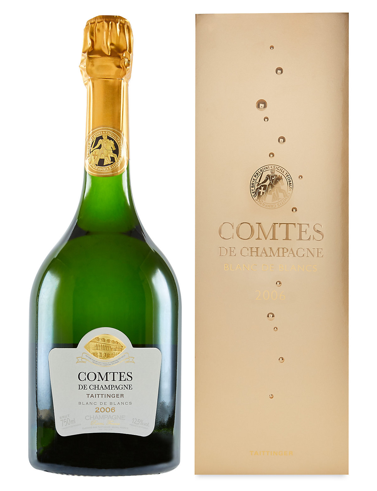 Taittinger Comtes De Champagne  Single Bottle