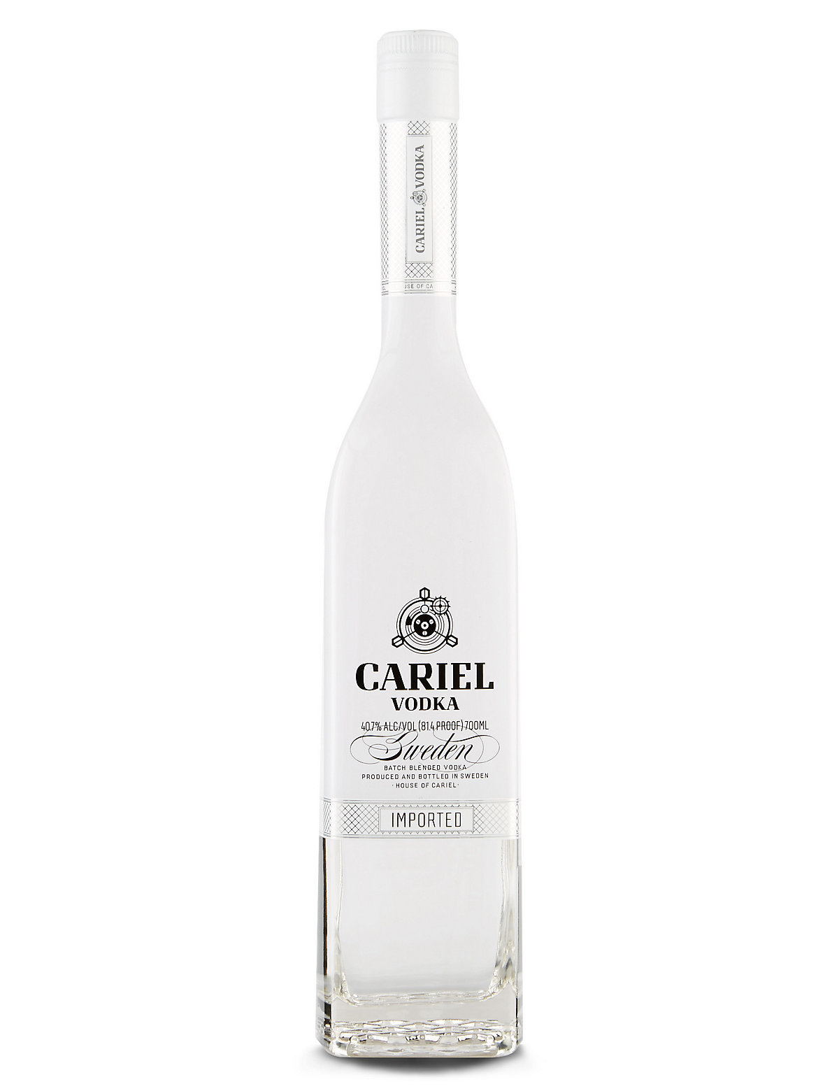 Cariel Swedish Vodka  Single Bottle