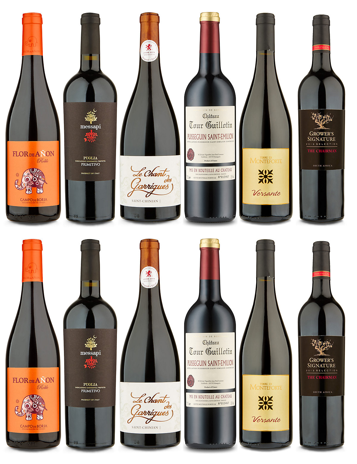 Feb 2017 Reserva Red Selection  Case of 12
