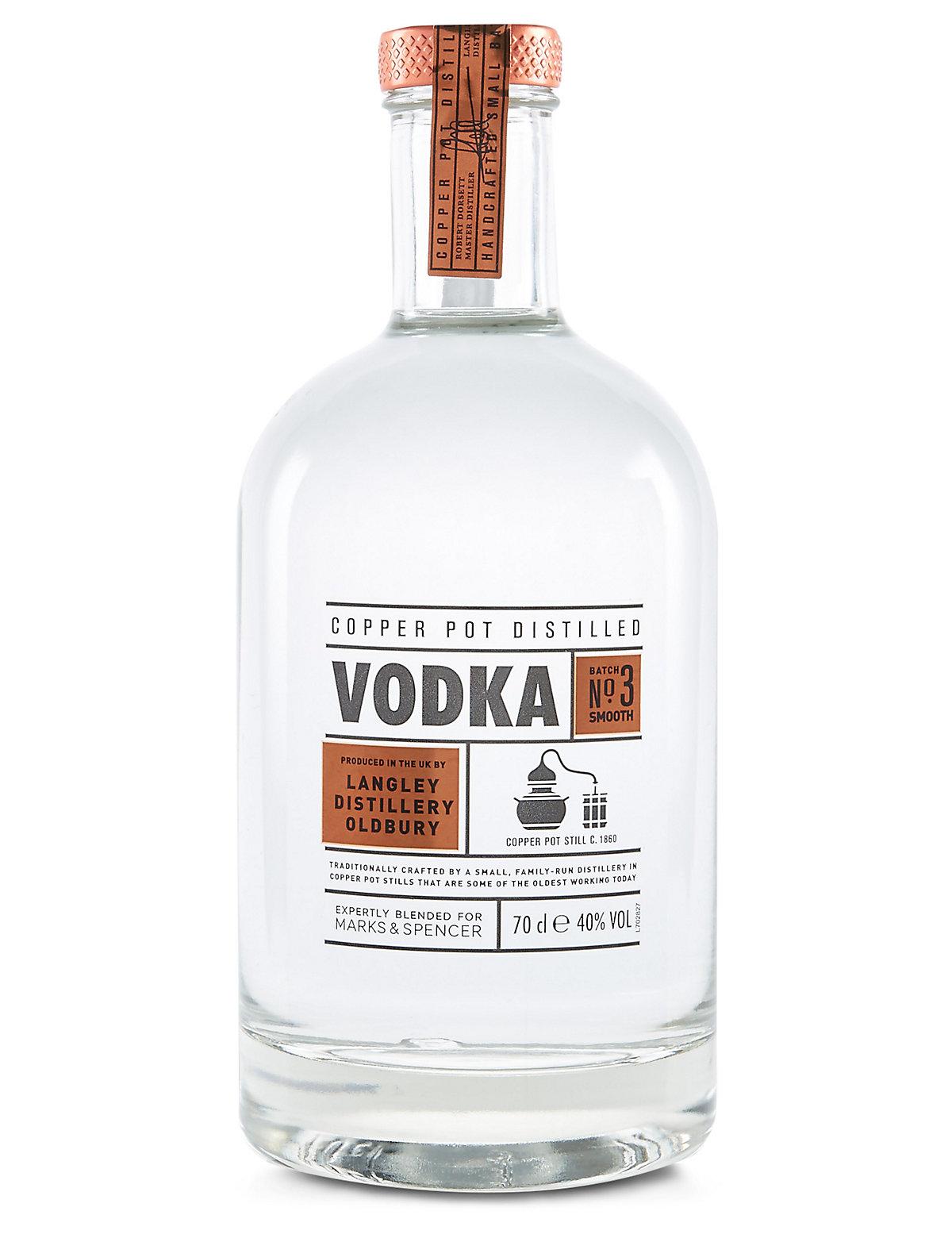 Copper Pot Distilled Small Batch Vodka - Single Bottle