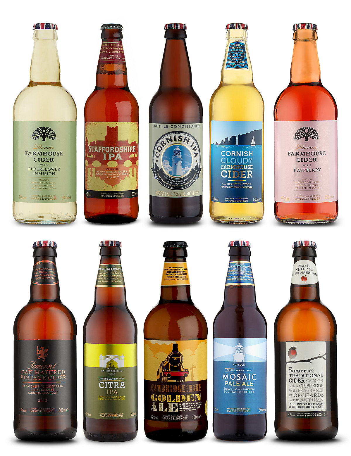 British Cider & Beer Selection - Case of 20