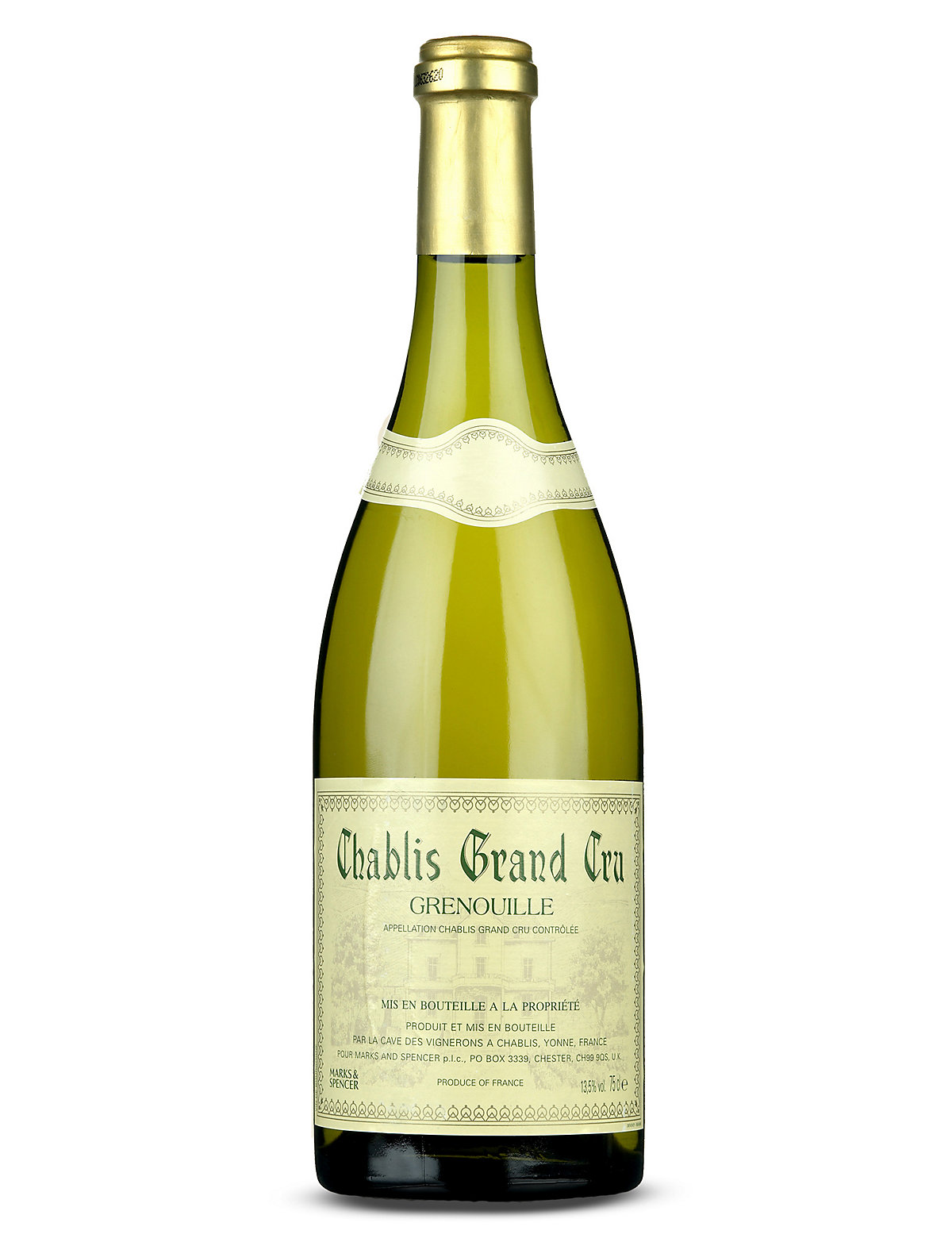 Chablis Grand Cru Grenouille - Single Bottle