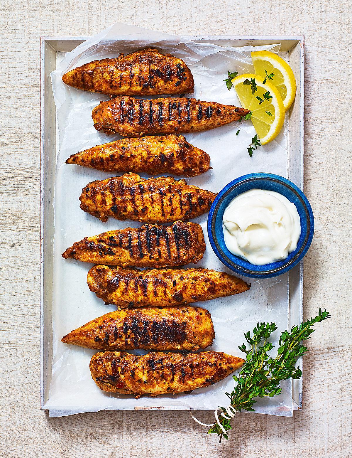 Chicken Bravas Tenders with Alioli
