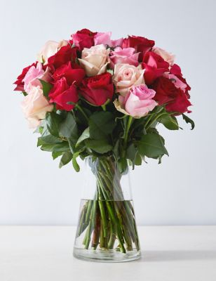Classic roses hot mix send flowers free delivery classic roses hot mix izmirmasajfo