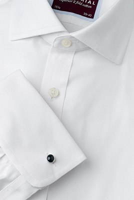 2in Longer Pure Cotton Ultimate Non-Iron Twill Shirt, WHITE, catlanding