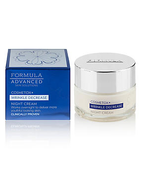 Cosmetox+ Wrinkle Decrease Night Cream 50ml