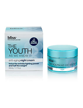The Youth as We Know It™ Anti-Ageing Night Cream 50ml
