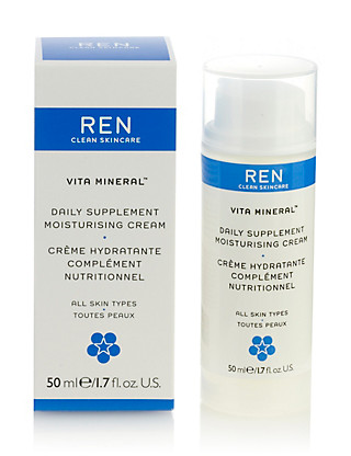 Vita Mineral Daily Supplement Moisturising Cream 50ml Home