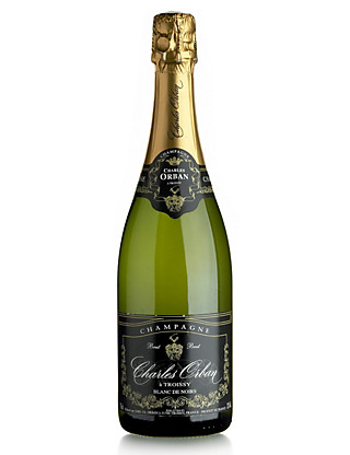 Charles Orban Blanc de Noirs NV Champagne - Case of 6 Wine