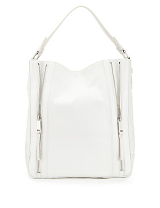 Leather Zip Hobo Bag Clothing