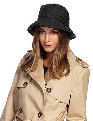 Gewatteerde Thinsulate™-hoed met Stormwear™, ZWART, catlanding