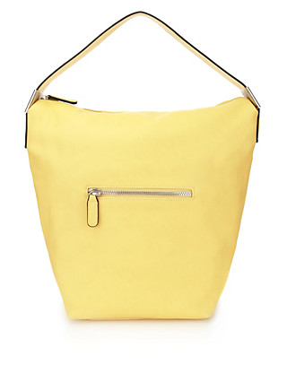 Buckle Trim Hobo Bag Clothing