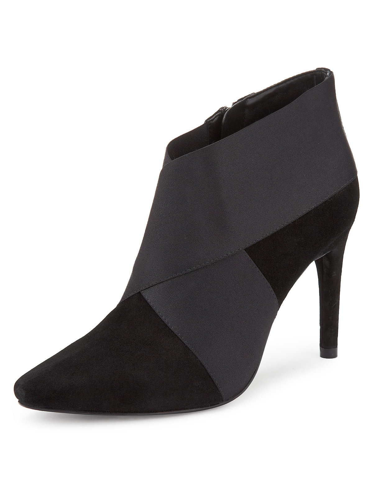 No these aren\u0027t practical but how expensive do they look? Suede Elastic  Panel Shoe ...