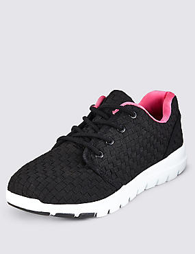 Lace Up Trainers with Insolia Flex®