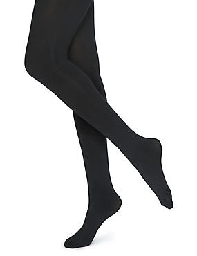 100 Denier Magicwear™ Bum & Tum Opaque Bodyshaper Tights 1 Pair Pack