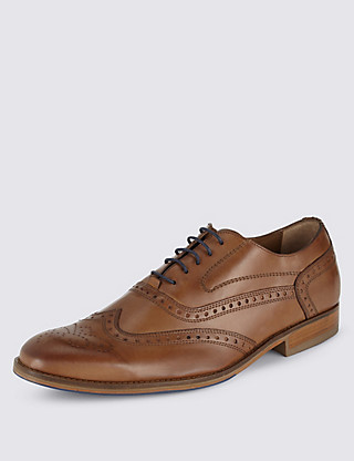 Leather Brogue Clothing