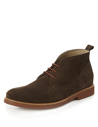 Suede Lace Up Boots Clothing