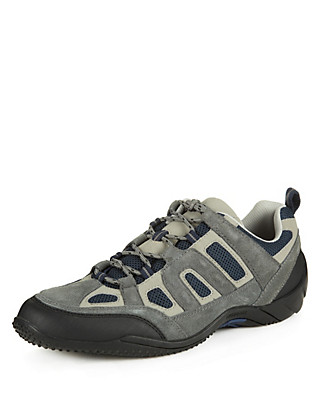 Lightweight Hiker Lace Up Trainers Clothing