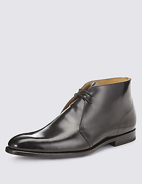 Leather Welted Chukka Boots