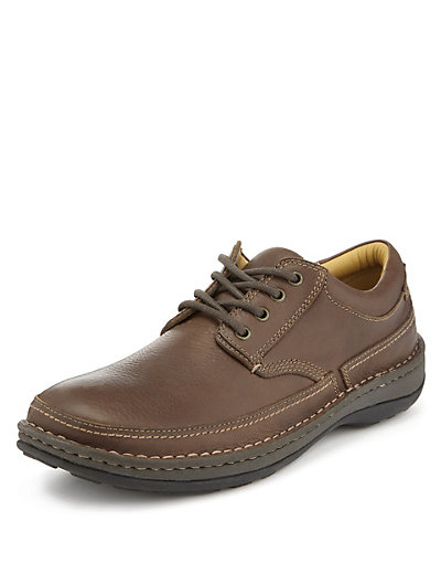 Airflex™ Leather Lace Up Shoes Clothing