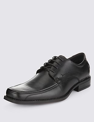 Lace-up Shoes, BLACK, catlanding