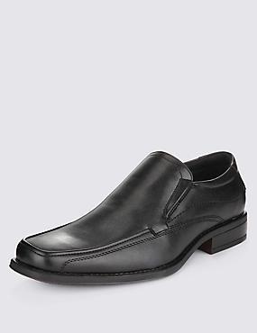 Slip-on Shoes, BLACK, catlanding