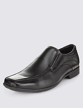 Chaussures à détail couture, NOIR, catlanding