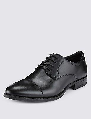 Lace-up Shoes, BLACK, catlanding