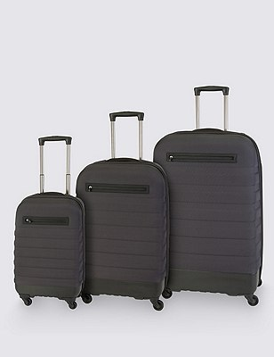 Hybrid Large Suitcase, CHARCOAL, catlanding