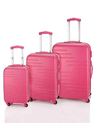 Medium Hard Rollercase, PINK, catlanding