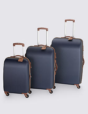 Ultralight Heritage 4 Wheel Cabin Suitcase, NAVY, catlanding
