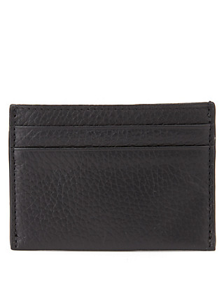 Leather Credit Card Holder Clothing