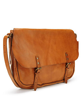 Leather Dispatch Bag