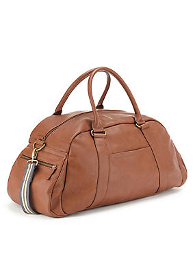 Faux Leather Holdall