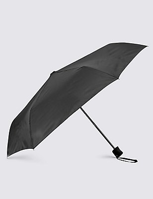 Briefcase Umbrella with Stormwear™ & Windtech™, BLACK, catlanding