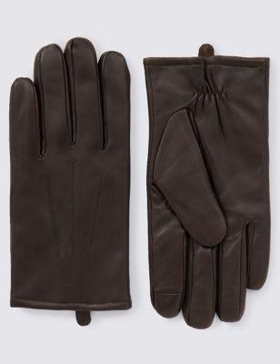 Кожаные перчатки Touchscreen с технологией Thinsulate™ от Marks & Spencer