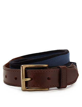 Square Buckle Stretch Belt Clothing