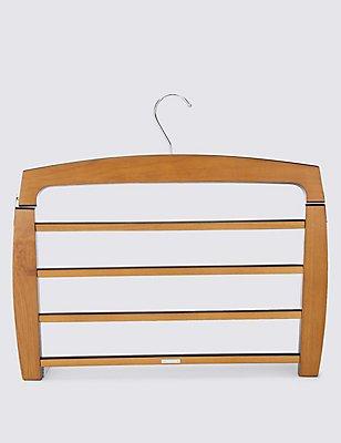 Wooden Trouser Hanger, , catlanding