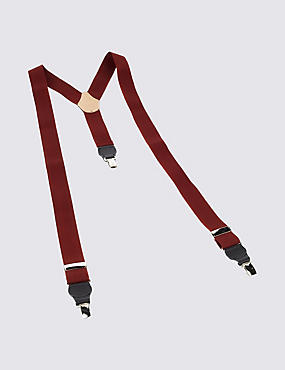 Adjustable Braces, DARK RED, catlanding