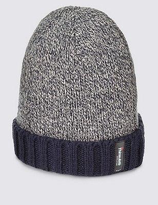 Thinsulate™ Beanie Hat, NAVY MIX, catlanding