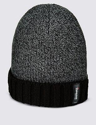 Thinsulate™ Beanie Hat, BLACK MIX, catlanding