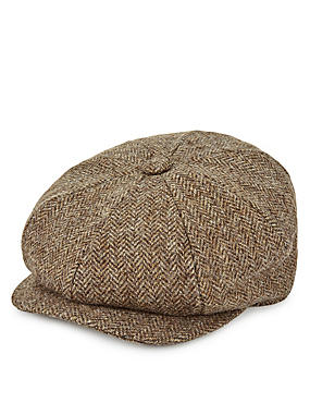 Thinsulate™ Pure Wool Baker Boy Cap with Stormwear™