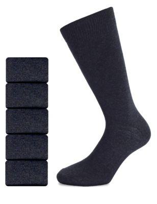 Хлопковые носки Freshfeet™ (7 пар) от Marks & Spencer