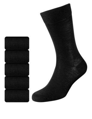 Носки с усиленным мыском (5 пар) M&S Collection T100812