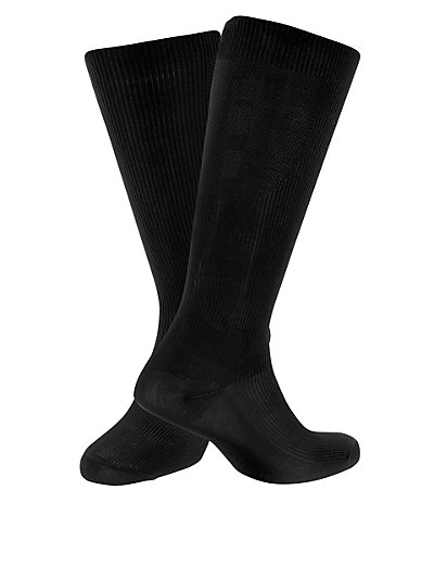 Freshfeet™ Compression Flight Socks with Silver Technology Clothing