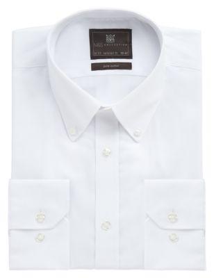 Мужска рубашка Easy to Iron из чистого хлопка от Marks & Spencer