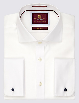 Pure Cotton Non-Iron Twill Shirt Clothing